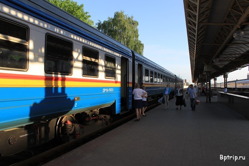 Россиянин бежал за поездом