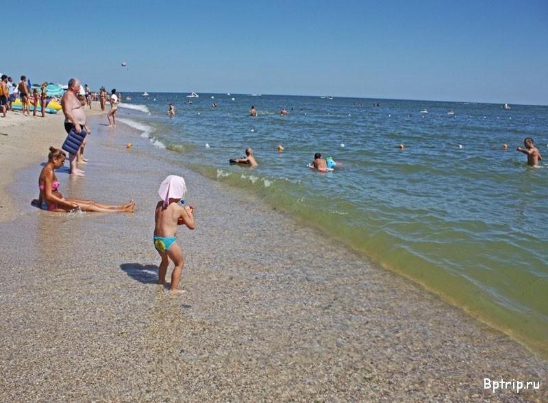Пляж на затоке фото