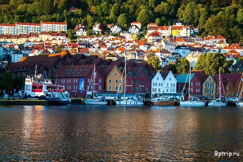 брюгген-берген-норвегия