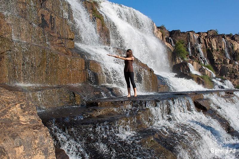 Водопад Понгур