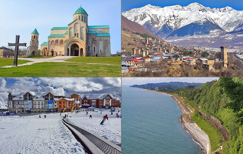 История грузии что посмотреть