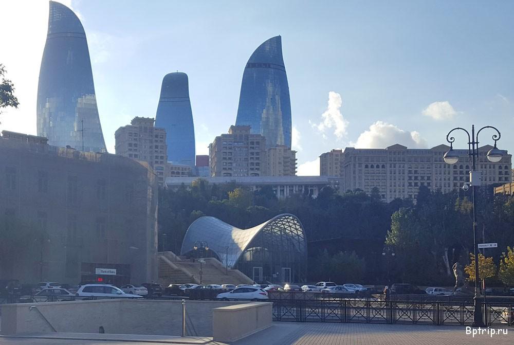 Как раньше было летом в Баку - путешествие в прошлое (ФОТО) | 671x1000